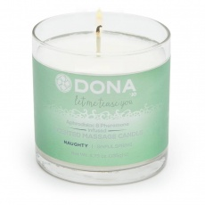 Dona - Soy Massage Candle Naughty Sinful Spring - 135g photo