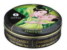 Shunga - Zenitude Massage Candle Exotic Green Tea - 30ml photo