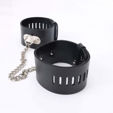 MT - Leather Ankle Cuffs  photo