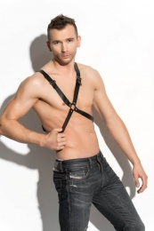 Me Seduce - Harness Man 04 - Black - L/XL photo