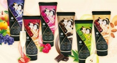 Shunga - Kissable Massage Cream Pear and Exotic Green Tea - 200ml photo